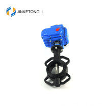 "JKTLED001 electric actuator stainless steel 4"" butterfly valve"