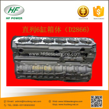 Customized for MAN Engine Cylinder Block MAN D2866 diesel engines cylinder block export to Spain Wholesale