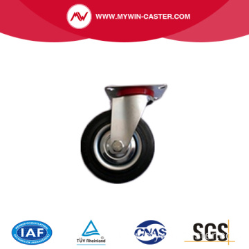 Flat free stainless steel swivel caster
