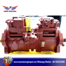 100% Original for Excavator Hydraulic Pump Excavator Hydraulic Main Pump Kawasaki K3V112 Pump supply to Afghanistan Manufacturers