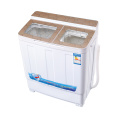 Gold Glass Cover 6KG Twin Tub Washing Machine