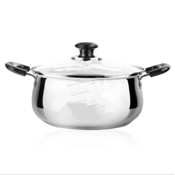 Mirror Polish Stainless Steel High Quality Sauce Pot