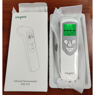 Non-contact medical infrared forehead thermometer