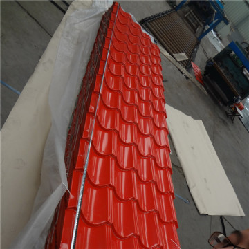 Green Red Blue Colors Prepainted Roofing Sheet