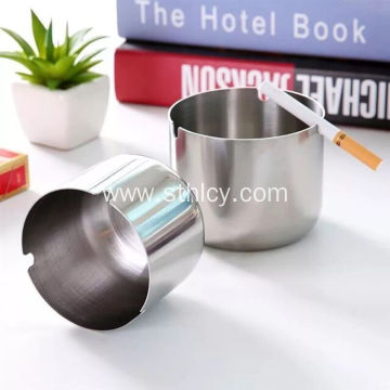 Stainless Steel Ashtray Circular Block Wind