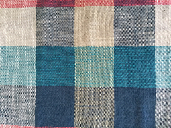 Fashion Plaid Bamboo Fabric