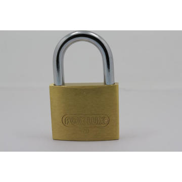 China for Heavy Duty Brass Padlock 70mm Heavy duty Thick Type Brass Padlock Iron Key export to Belize Suppliers