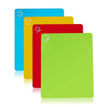 Flexible Cutting Board Mats Set Chopping Board