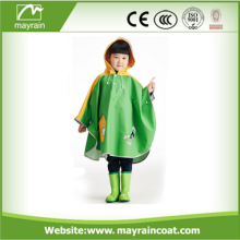 Goods high definition for Disposable Pu Poncho Best Selling Raincoats Kids Cute Rain Poncho export to Comoros Factories