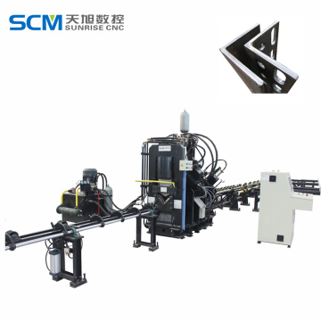 Enhanced CNC Marking Punching Machine with Cutting Function