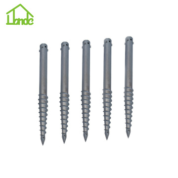 Ground Screw Anchors For Fence