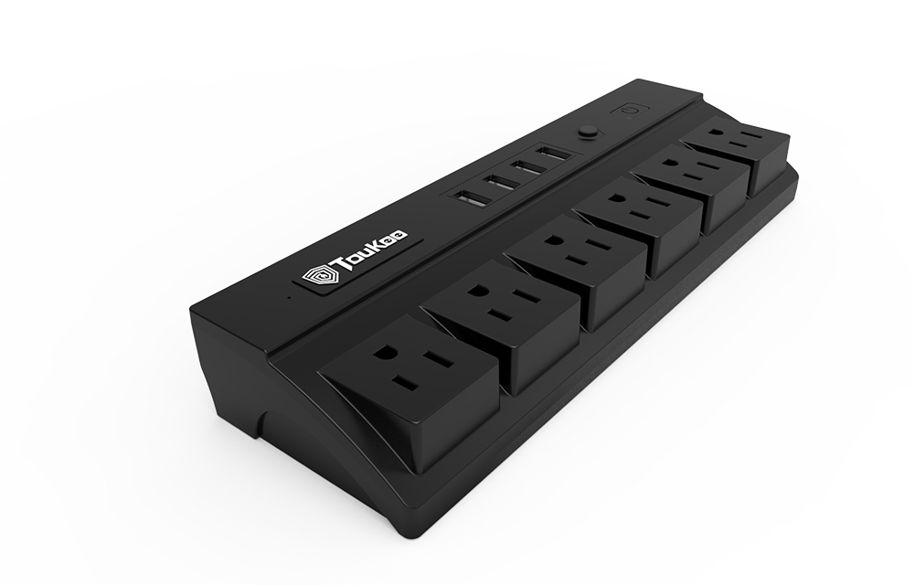 6 Gang Power Strip Quick Charging