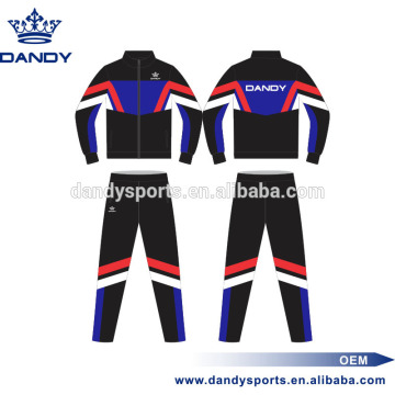 Best Price for for Sublimated Tracksuit custom stripes mens running tracksuit supply to Seychelles Exporter