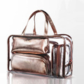 Hot Selling 5 Pieces Set PVC Clear Waterproof  Travelling Cosmetic Bag