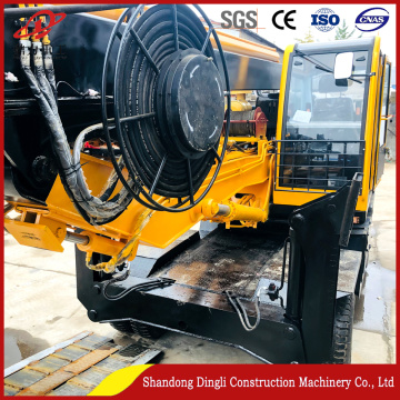 15-30 meters of high-quality machinery wheeled rig