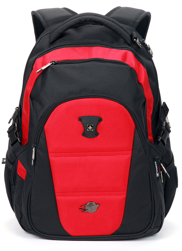 Side Zipper Net Pocket Backpack
