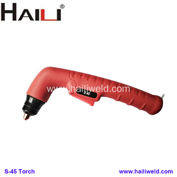 S45 Plasma Cutting Torch Head with consumables