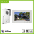 Memory 7 Inches 4 Wires Intercom Home Security Video Door Phone