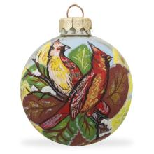 Hot Selling Personized Logo Glass Christmas Bauble