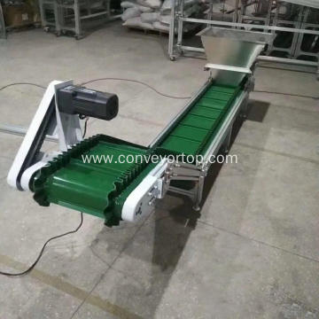 Industry Adjustable Height Inclined Belt Conveyor System
