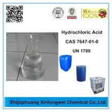 China Gold Supplier for Water Treatment Chemicals Hydrochloric Acid 35% Reagent Grade export to United States Suppliers
