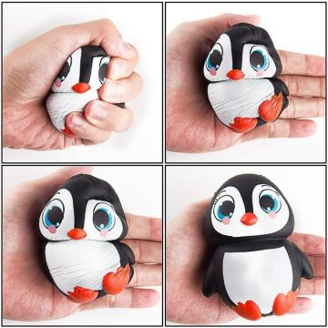 Jumbo Squishy Toy Kawaii Penguin Decompression Squeeze Toys