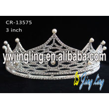 Glitz Pageant Crowns Pearl Crown CR-13575