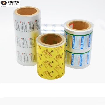 pills packaging aluminum blister foil