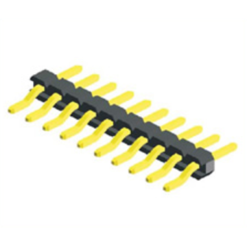 1.27mm Pitch Angle  Single Row SMT Type