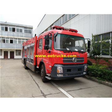 7000 Litres 210HP Combined Fire Fighting Trucks