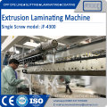 Satu mesin skru tunggal T-Die laminating machine