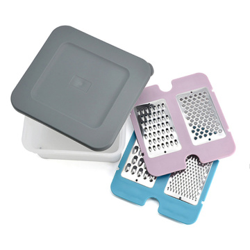 Garwin adjustable multi-function grater with storage box