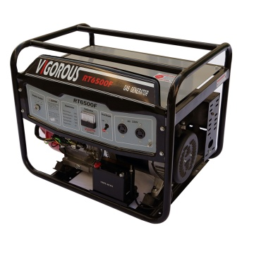 6kw Dual Fuel Gas or LPG Electric Start Portable Generator