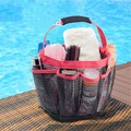 Summer Mesh Beach Bags Toiletry Basket for Swimming