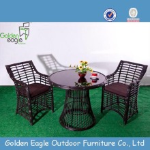 Round Table Set Rattan Outdoor Furniture