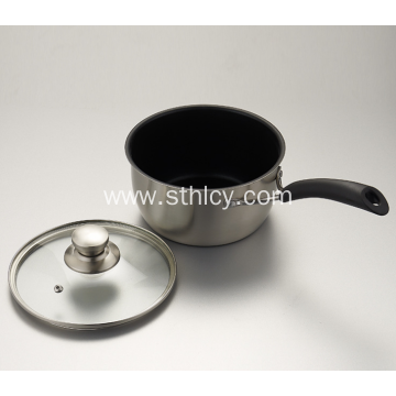 Stainless Steel Mini Single Handle Milk Pan