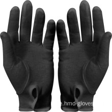 Hot Selling Black Bomullshandskar Military Parade Glove