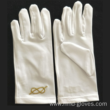 OEM/ODM Manufacturer for China Masonic Embroidery Nylon Gloves,Theatrical Adult Gloves,Masonic Dress Polyester Gloves Manufacturer and Supplier Royal Arch Dress Masonic Gloves export to Uruguay Wholesale