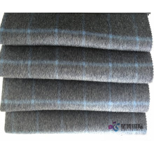 factory low price for Check Wool Plaid Fabric 100% Wool Plaid Fabric For Suiting Clothing export to Central African Republic Manufacturers