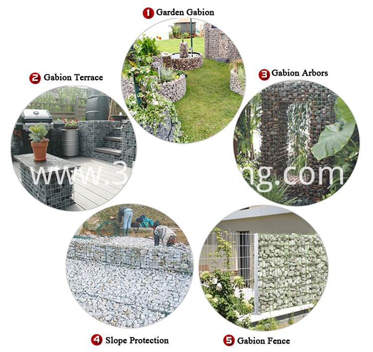 Welded Gabion Applications