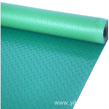 Plastic mat used in walkways or passageways