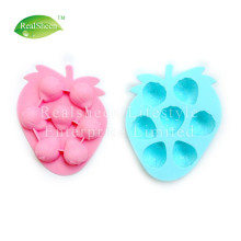 Strawberry Silicone Ice Cube Chocolate Soap Mold