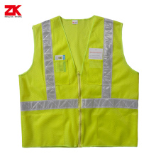 Manufacturer of for Multi Pocket Safety Vest,Safety Vest With Pockets,Reflective Workwear Manufacturers and Suppliers in China 100% polyester High visible safety cloth supply to Suriname Supplier