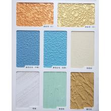 Exterior gold gloss paint for stone