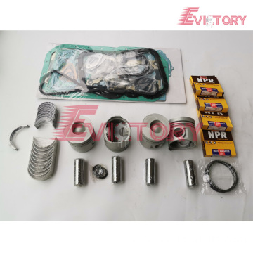 DOOSAN DB33 rebuild overhaul kit gasket bearing piston