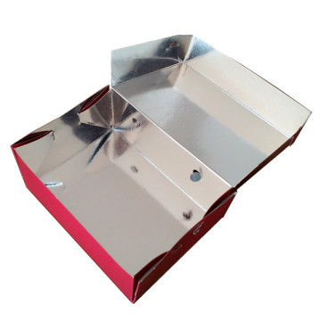 Aluminium foil skewer box