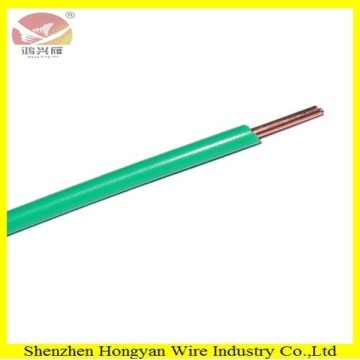 pvc coated solid core copper wire