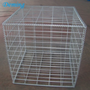 Welded Gabion Baskets Pvc Coated Gabion Mattress Gabion Box