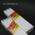 Business  high quality paraffin wax white candle