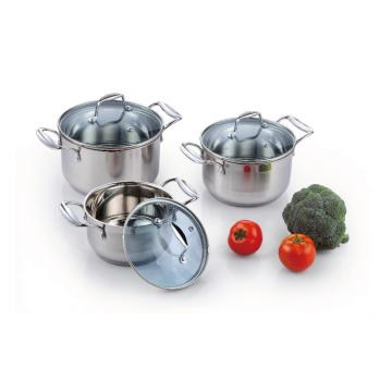 6 Pieces Stainless Steel Casserole